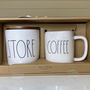 Rae Dunn    Coffee Mug & Canister Set